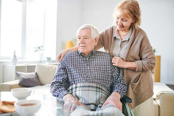 The Challenges of Caregiving for a Spouse